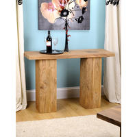 Alwar Solid Acacia Wood Console Table