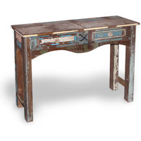 New England Reclaimed Wood Console Table