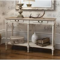Emily Country Cream Console Table
