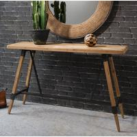Studio Industrial Trestle Console Table