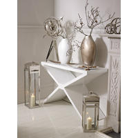 Whitaker White High Gloss Console Table