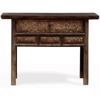 Console Table with Three Drawers