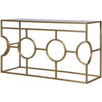 Park Lane Modern Gold Console Table