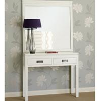 Hanoi White Lacquer Oriental Console Table