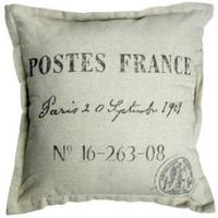 "Cushion ""Postes France"" -Natural Cotton"