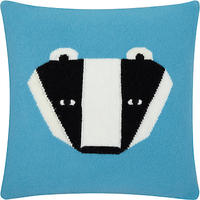 Donna Wilson Badger Cushion Blue