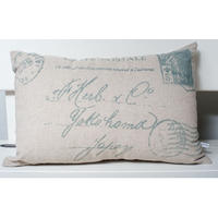 Vintage Postcard Cushion - Rectangle
