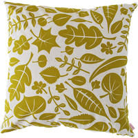 Skinny LaMinx Leaves Cushion Cover - Gold