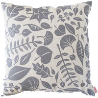 Skinny Laminx Leaves Cushion Cover - Grey