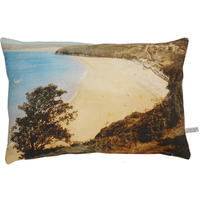 Vintage beach English Romantic cushion