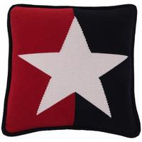 Lexington - No 1 Cotton Knit Big Star Cushion Cover - 50cm x 50cm