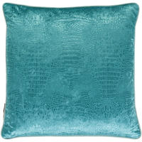 Osborne & Little - Limpopo Aqua Cushion - 50x50cm