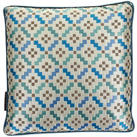 Osborne & Little - Serai Aqua Cushion - 45x45cm