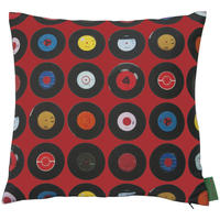 Ella Doran - Sevens Red Cushion - 40x40cm