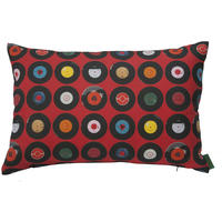 Ella Doran - Sevens Red Cushion - 60x40cm