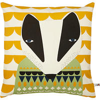 Donna Wilson Printed Badger Cushion