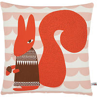 Donna Wilson Printed Squirrel Cushion