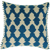 Niki Jones - Lattice Teal Cushion