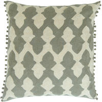 Niki Jones - Lattice Pewter Cushion