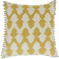 Niki Jones - Lattice Chartreuse Cushion
