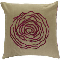 William Yeoward - Hortense Plum Cushion