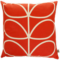 Orla Kiely - Linear Stem Cushion - Red