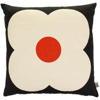 Orla Kiely - Giant Abacus Cushion - Slate Blue/Red