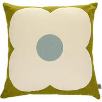 Orla Kiely - Giant Abacus Cushion - Olive/Duck Egg