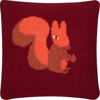 Donna Wilson Knitted Squirrel Cushion