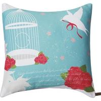 Roses with Love Red Rose Cushion