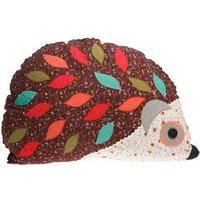 Hedgehog Applique Cushion with Inner