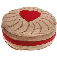 Jammy Dodger Biscuit Cushion & Inner