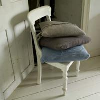 Pewter Cotton Cushion