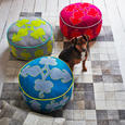 Rangoli Floor Cushions from Graham & Green
