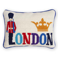 Jonathan Adler - Jet Set London Cushion