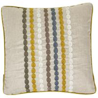 Osborne & Little - Kashan Stripe Mustard Cushion - 45 x 45cm
