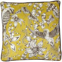 Osborne & Little - Kayyam Mustard Cushion - 50 x 50cm