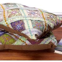 Ralli Quilt Brown Cushion