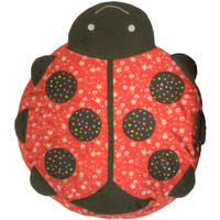 Ladybird Cushion Cover With Inner