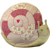 Babs Snail Cushion Cover With Inner