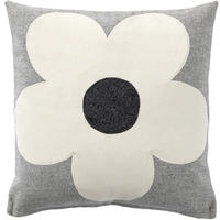 Cushion - Flower (Grey)