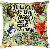 Christian Lacroix - Naked Life Multicolore Cushion - 50 x 50cm