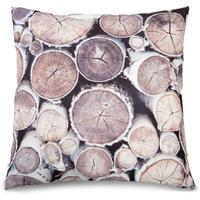 Birch Tree Trunk Ends Double Sided Cushion