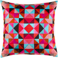 Mariska Meijers - Bold Cubism Cushion Cover - Picasso Red - 50x50cm