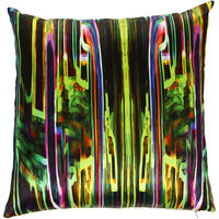 Mariska Meijers - Jungle Fever Cushion Cover - Black - 40x40cm