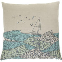 Orwell and Goode - Stormy Seas Cushion - 18inch