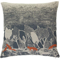 Orwell and Goode - Night Woods: Rust Fox Cushion - 18