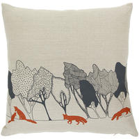 Orwell and Goode - Day Woods: Rust Fox Cushion - 18inch