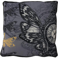 Time Flies Cushion by Adam Slade