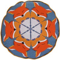 Orwell and Goode - Fox Piped Cushion - 16inch